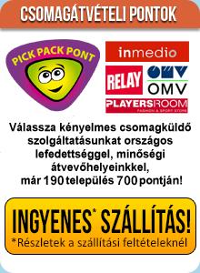 Rocky könyv, DVD webáruház - Pickpack pont átvétel
