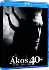 több rendező - Ákos 40+ (Blu-ray)