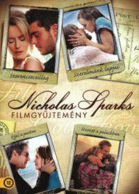 Scott Hicks, George C. Wolfe, Nick Cassavetes, Luis Mandoki - Nicholas Sparks gyűjtemény (Szerencsecsillag + Szerelmünk lapjai + Éjjel a parton + Üzenet a palackban) (4 DVD)