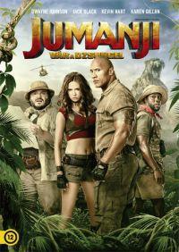 Jake Kasdan - Jumanji - Vár a dzsungel (DVD)