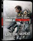 A holnap határa - limitált, fémdobozos változat (futurepak) (Blu-ray3D+Blu-ray)
