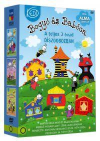 M. Tóth Géza, Antonin Krizsanics - Bogyó és Babóca trilógia (1-3. rész) (3 DVD)