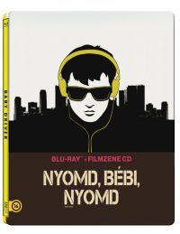 Nyomd, bébi, nyomd (BD + filmzene CD) - limitált, fémdobozos változat (steelbook)