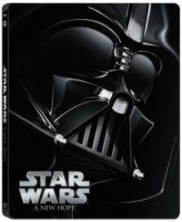 Star Wars IV. rész - Egy új remény - limitált, fémdobozos változat (steelbook) (Blu-ray)