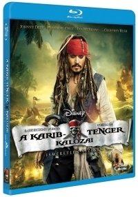 A Karib-tenger kalózai: Ismeretlen vizeken (Blu-ray)