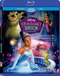 A hercegnő és a béka (Blu-ray+DVD)