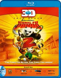 Kung Fu Panda 2. (3D Blu-ray)
