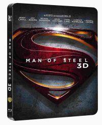 Az acélember - limitált, fémdobozos változat (steelbook) (Blu-ray3D+Blu-ray)