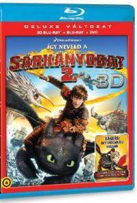 Így neveld a sárkányodat 2. (Blu-ray 3D+BD+DVD)