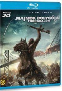 A majmok bolygója - Forradalom (Blu-ray3D+Blu-ray)