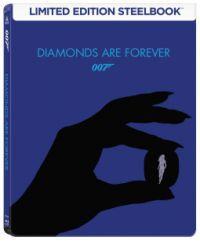 James Bond - Gyémántok az örökkévalóságnak - limitált, fémdobozos változat (steelbook) (Blu-ray)