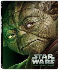 Star Wars II. rész - Klónok támadása - limitált, fémdobozos változat (steelbook) (Blu-ray)