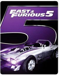 FF5: Halálos iramban: Ötödik sebesség - limitált, 2017-es fémdobozos változat (steelbook) (Blu-Ray)