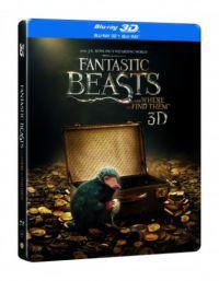 Legendás állatok és megfigyelésük (3D Blu-ray Steelbook)
