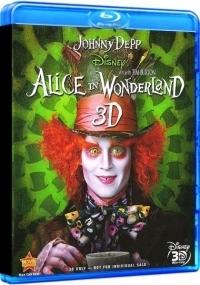 Tim Burton - Alice Csodaországban (3D Blu-ray)