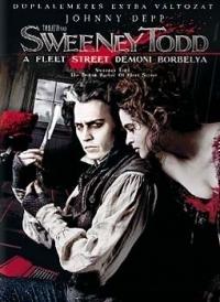 Sweeney Todd - A Fleet Street démoni borbélya (DVD)