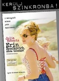 Erin Brockovich, zűrös természet - Szinkronizált változat (DVD)