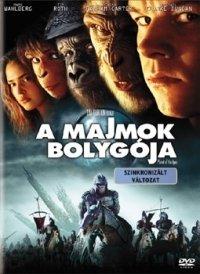 A majmok bolygója (2001) (DVD)