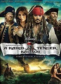 A Karib-tenger kalózai: Ismeretlen vizeken (DVD)