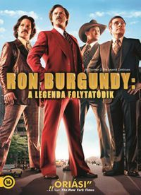 Ron Burgundy: A legenda folyatódik (DVD)