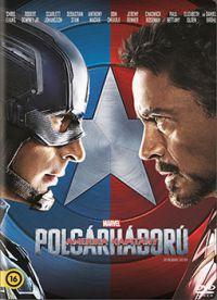 Amerika Kapitány: Polgárháború  (DVD)