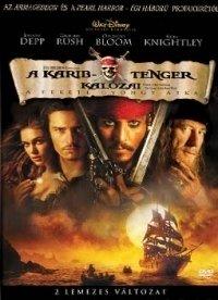 A Karib-tenger kalózai - A fekete gyöngy átka (DVD)