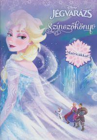 Disney - Jégvarázs színezőkönyv matricákkal