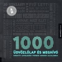 1000 ÜDVÖZLŐLAP ÉS MEGHÍVÓ