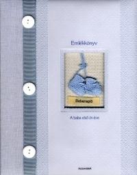 Emlékkönyv - A baba első öt éve (kék)