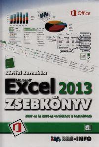 Microsoft Excel 2013 zsebkönyv /KÖNYV/