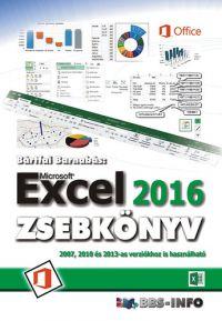 Excel 2016 zsebkönyv /KÖNYV/