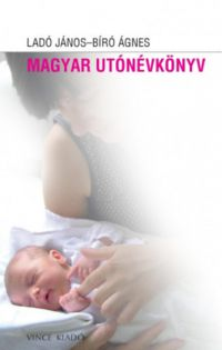 Magyar utónévkönyv /KÖNYV/