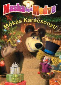 Mása és a Medve - Mókás Karácsonyt! /KÖNYV/