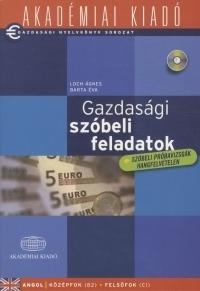 Gazdasági szóbeli feladatok (CD melléklettel)