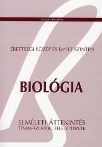 Biológia - Érettségi közép és emelt szinten