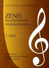 Zenei készségfejlesztő feladatgyűjtemény 3. kötet