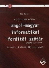 Angol-magyar informatikai fordító szótár