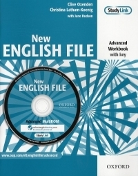 New English File Advanced Workbook with Key (with MultiROM)