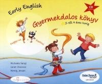 Early English Gyermekdalos könyv 2-4 éves korig (CD melléklettel)