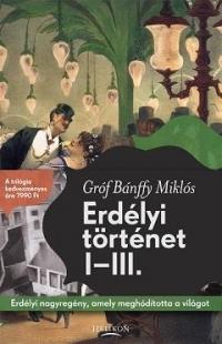 ERDÉLYI TÖRTÉNET I-III.