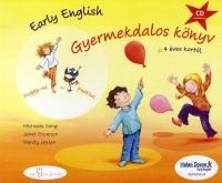 Early English Gyermekdalos könyv 4 éves kortól (CD melléklettel)