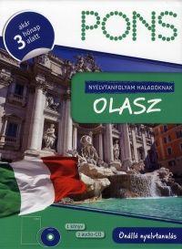 PONS nyelvtanfolyam haladóknak:Olasz (1 könyv + 2 audio-CD)