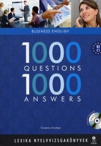 1000 Questions, 1000 Answers:Business English (MP3 formátumú CD melléklettel)
