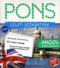 PONS Szókártyák angol nyelvből