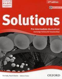 Solutions Pre-Intermediate Munkafüzet érettségi felkészítő feladatokkal (with audio CD)