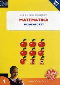 Matematika 1. - Munkafüzet