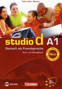 studio d A1 Kurs- und Übungsbuch (mit Audio-CD)
