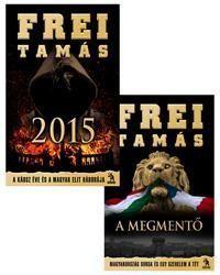 2015 - A káosz éve és a magyar elit háborúja + A Megmentő (akciós csomag)