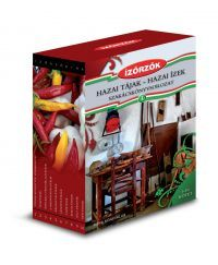 Hazai tájak - hazai ízek szakácskönyvsorozat díszdobozban