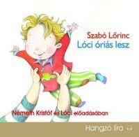 Lóci óriás lesz - Hangoskönyv (CD)